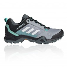 adidas Terrex AX3 Women's Walking Shoes - SS21 Grey Carnival Fitted BPSS455