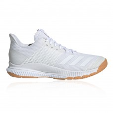 adidas CrazyFlight Bounce 3 Women's Court Shoes White For Wide Feet New Arrival RPQO228
