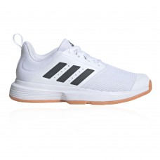 adidas Essence Women's Indoor Court Shoes Ftwr White/Grey Six/Ftwr White Cool Top Sale JNHY683