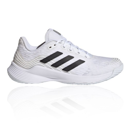 adidas Novaflight Women's Indoor Court Shoes - SS21 White Casual Or Sale Near Me SWHO195