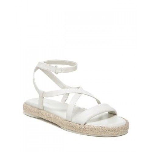 Vince Women's Vince Women's Smith Strappy Espadrille Sandals Off White Business Casual ERVN812