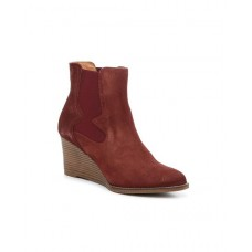 Andre Assous Women's Red Sadie Chelsea Wedge Bootie XXHDCDG
