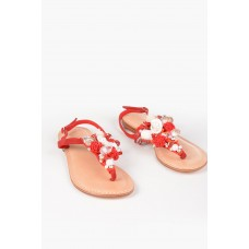 Balibali Women Thong Sandals NEW SEA with Application Casual P314560 ITBTXXN